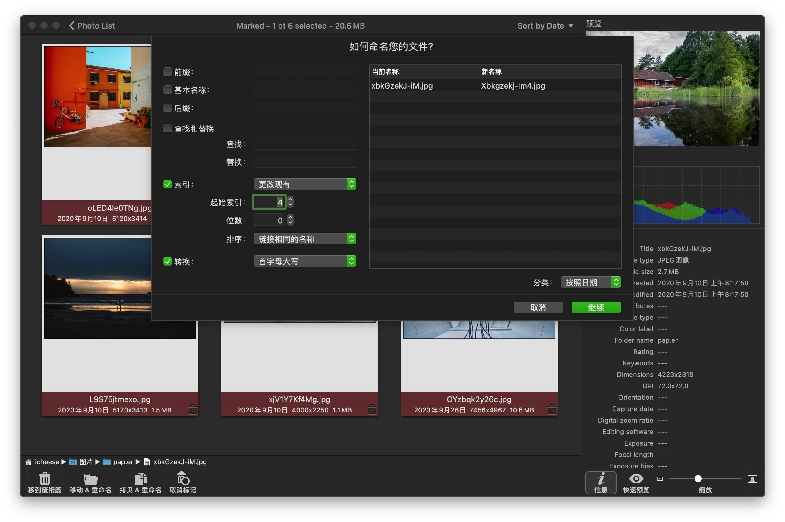 PhotoSweeper X 3.9.2  汉化破解版  相似重复照片清理工具 文件管理 第4张