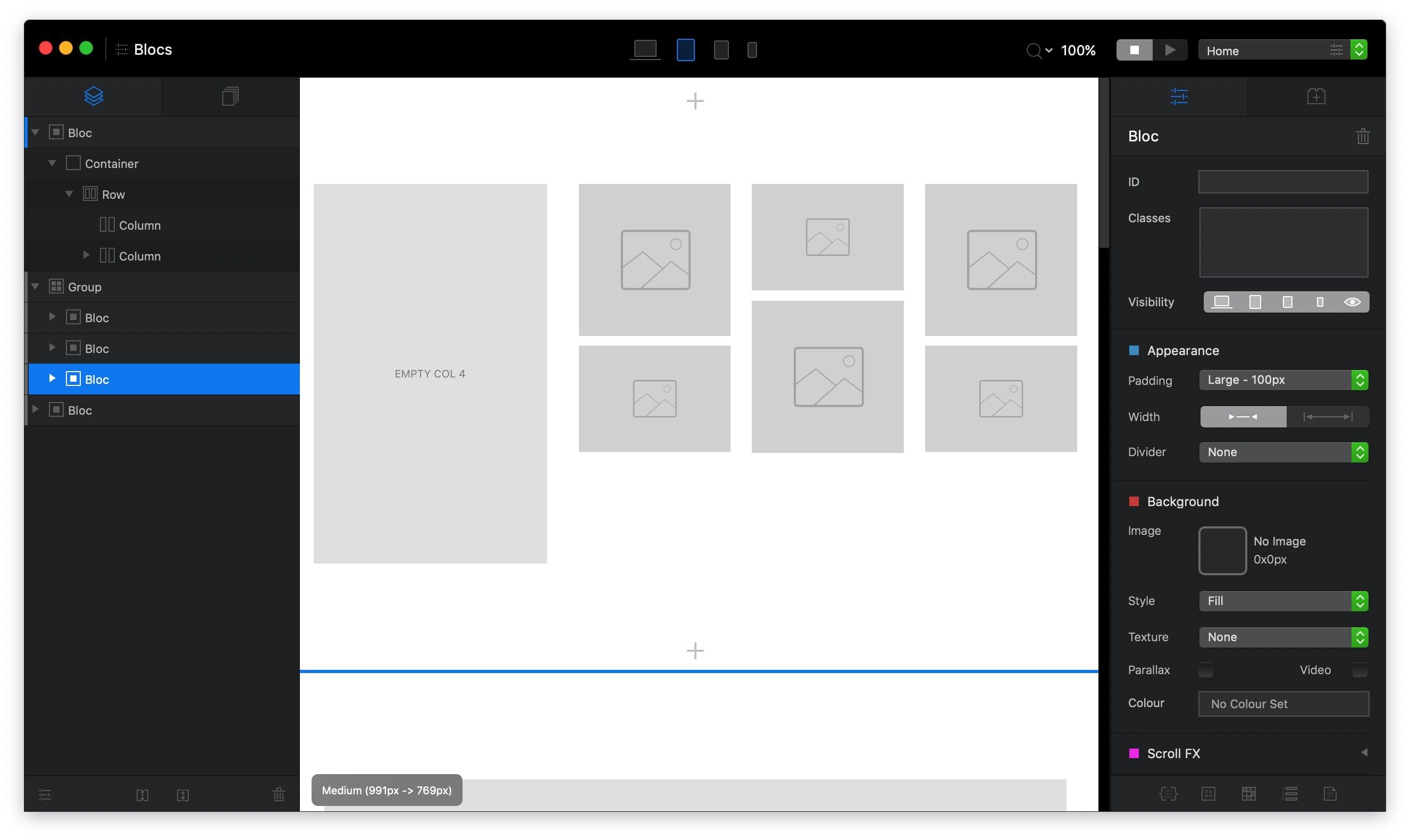Blocs 4.0.3  优秀的零编码网页开发工具  第2张