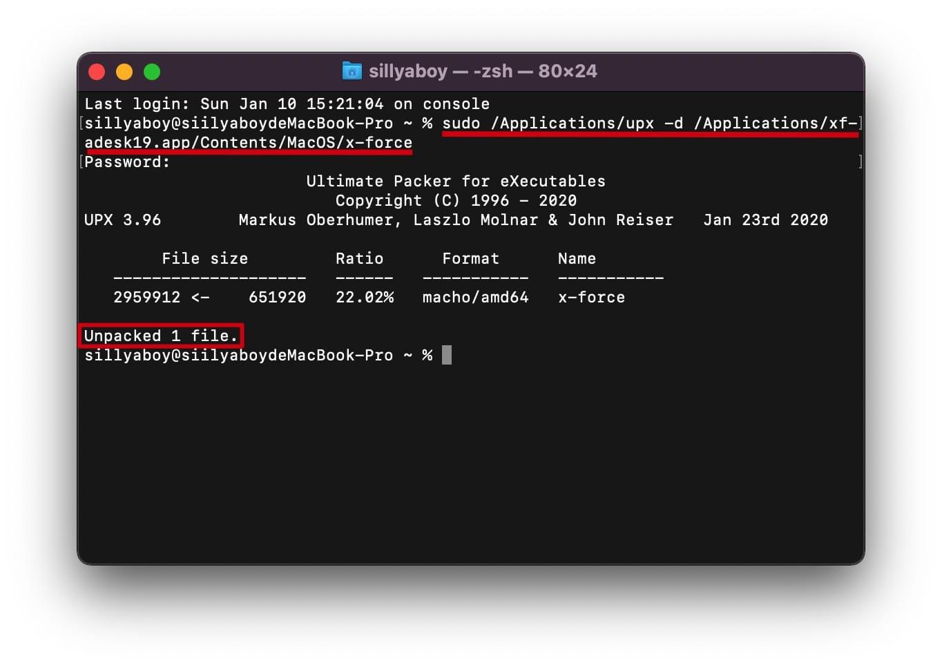 "Big Sur 系统「您没有权限来打开应用程序""xf-adesk19""」问题解决 Mac教程 第5张"