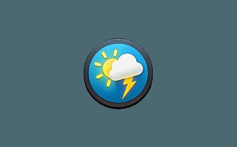 Weather Guru 2.5.0 破解版 菜单栏天气预报小工具 系统增强 第1张