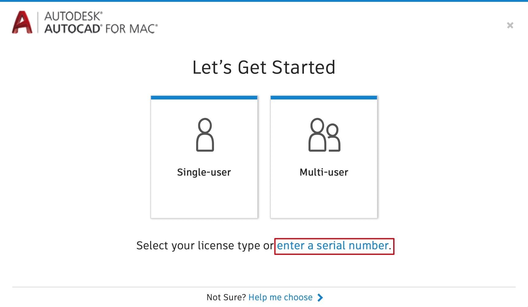 AutoCAD 2020.2 for Mac  英文版破解教程 Mac教程 第6张