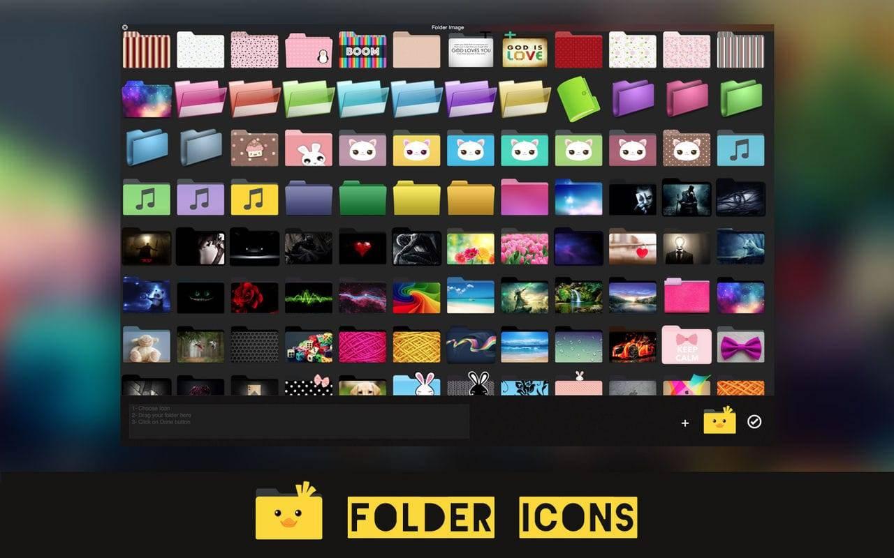 Folder Icons 1.3 破解版 文件/文件夹图标美化 系统增强 第3张